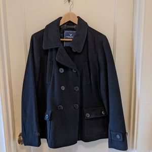 Woman's peacoat